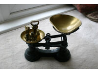 Brass imperial scales