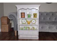 Shabby Chic ViNTAGE Kitchen Shelf,Shelves,Plate Rack,Dresser Top,Laura Ashley Paint