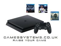 Brand New PS4 Slim 500GB Console with Prey Fifa 18 & Shadow of the Colossus for just £319.99!