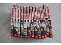 Vampire Knight Japanese Manga vol 1-13 books