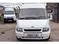 FORD TRANSIT 300 MWB SEMI HI-TOP – 04-REG
