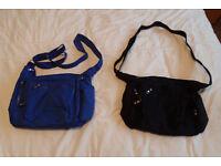 2 travel shoulder bags / camera bags £10 the pair