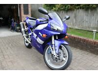 Yamaha R1 1999 only 14000 miles One Owner From New. Fantastic Condition