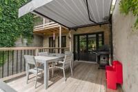 Plateau Mont-Royal-Luxurious Condo on 2 floors+garden. Dog ok