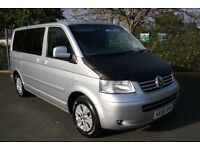 Volkswagen Caravelle 2.5TDI 130PS SE. Good Camper project vehicle.