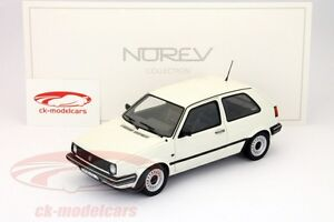 Volkswagen VW Golf II CL year 1989 white 1:18 Norev