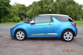 2011 61 Citroen DS3 1.6 E-HDi DStyle Airdream LOW MILES ZERO TAX MINT HPI CLEAR px
