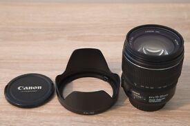 Canon EFS 15-85mm f3.5-5.6 IS USM lens
