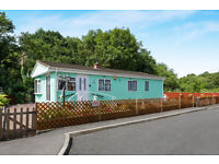 Beautiful 1/2 bedroomed mobile home for sale in peaceful woodland location