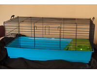 Savic Nero 3 De Luxe Cage for Guinea Pigs, Pygmy Hedgehogs and small Rabbits.