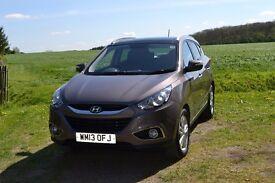 Hyundai ix35 1.7CRDi Premium Estate, 2WD with Media Pack, Registered July 2013, Colour Cashmere