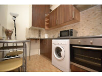 A good size one bedroom frist floor flat located moments away from the Barbican Tube Station.