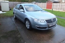 VW PASSAT 2.0 TDI SE 140 SALOON 6 SPEED MANUAL ONLY 95K MILES 2006