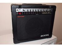 Zoom Fire 36M guitar amplifier with built-in effects, patches, EQ & Microphone