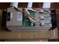 BITMAIN ANTMINER S9 BITCOIN MINER & 1600W PSU APW3 - 13.5TH/s