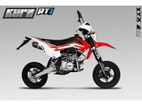 KURZ RT1 125 - Pit Bike - Learner Suitable - Pitbike - Road Legal