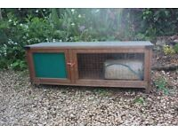 Small animal hutch for sale. Used but in good condition.