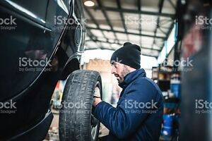 Tire Changing services.  $70