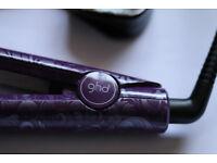 ghd Purple Genuine Hair straighteners 4.2b – Very Good Clean Working Condition