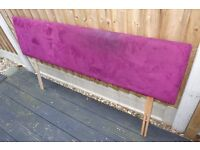 Headboard for king size bed, good condition
