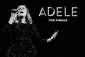 2x Adele pitch standing tickets, Wembley Stadium London, Saturday 1st July 2017