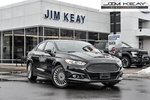 2014 Ford Fusion TITANIUM AWD W/MOONROOF, NAVIGATION & LEATHER