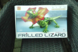 Frilled Lizard model kit for sale boxed new,..which lights up and moves