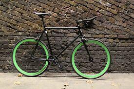 Christmas sale!!! Steel Frame Single speed road bike track bike fixed gear racing fixie bicycle bwk