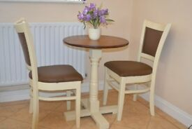 Small Round Table & Chairs Hand painted with Farrow & Ball
