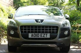 High spec Peugeot 3008 2010 1.6 HDI Exclusive 5DR FOR SALE Full leather lots of extras, low mileage!