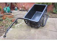 Bike trailer - for allotments / shopping