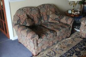 2 Two seat sofas in excellent condition £50 ono