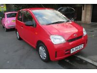 DAIHATSU CHARADE 1.0 EL. 2004 REG. RED. LOW MILES. FULL SERVICE HISTORY. MOT SEPT.
