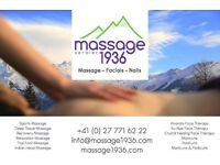 Beauty Therapist with strong massage skills needed for winter season in high end ski resort
