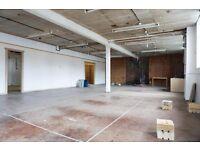 LARGE Warehouse/Space/Studio/Storage