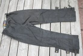 Belstaff Trialmaster Professional waxed cotton trousers