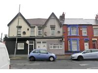 205a Boaler St., Kensington, Liverpool. 1 bed top floor flat with GCH & DG. LHA welcome