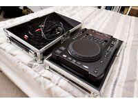 American Audio Radius 3000 DJ CD Player Deck + Flight Case