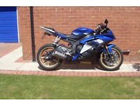R6 YAMAHA IN BLUE AND GOLD BEST COLOUR SUPERB CONDITION