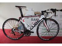 BIKE CUBE HPA AERIUM PRO SERIES TT TRIATHLON MEDIUM BICYCLE