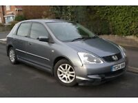 2004 Honda Civic FACE LIFT LONG MOT Service History drives GREAT £595 BARGAIN!!!!