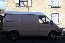 Ford Transit, 2.5, SWB 1998 semi high roof campervan or work van £950 ONO