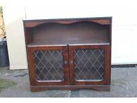 Dark Wood Sideboard/Display Cabinet