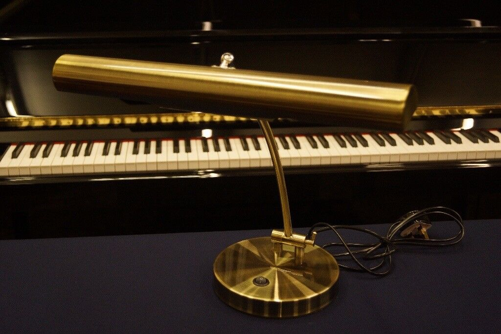 New in box piano lamp - Large - Can post