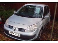 Renault Megane Scenic Rush MPV 2004-04-Plate