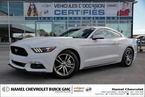 2016 Ford MUSTANG 2.3L ECOBOOST +CUIR ET SEULEMENT 3255KMS !!!