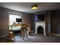 Office/Desk Space in former pub in Lockerley, Romsey Road. With Parking. £200 per desk