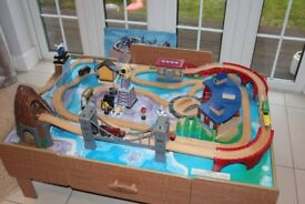 Universe of Imagination Train table and full set plus extra track