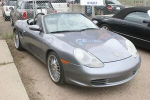 2004 Porsche Boxster Convertible, Leather, Loaded