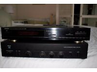 Arcam Alpha 3 amplifier and Denon tuner TU-260L. Excellent condition.